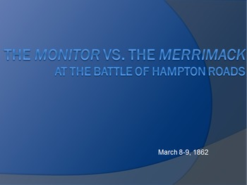 Civil War Battles: The Monitor vs The Merrimack