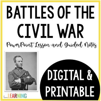 Civil War: Strategies, Battles, and Surrender PowerPoint