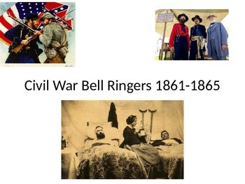 Civil War Bell Ringers or Warm Ups: 38 Questions