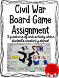 Civil War Board Game Final Project