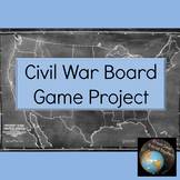 Civil War Board Game Project