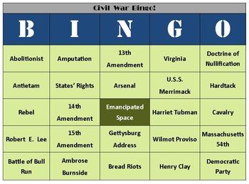 Civil War Bundle: 15-Pack [Great for Middle School]