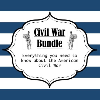 Civil War PowerPoint Bundle