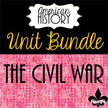 Civil War Bundle--9 Products!