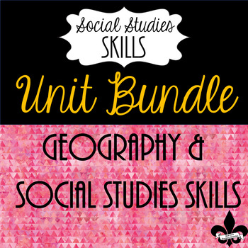Geography and Social Studies Skills Bundle--9 Products!