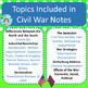 Civil War Bundle – Upper Elementary – No Prep, Print & Go