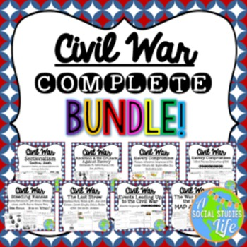 Civil War COMPLETE BUNDLE