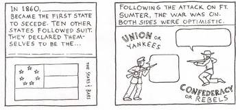 Cartoon Worksheet: U.S. Civil War