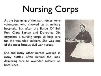 Civil War - Casualties & Medicines PowerPoint