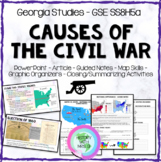 Causes of the Civil War GSE SS8H5 a