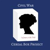 Civil War Cereal Box Inquiry Project
