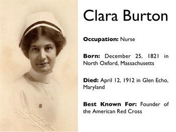 Civil War - Clara Barton PowerPoint