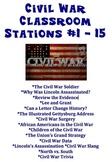 Civil War Classroom Stations # 1 - 15