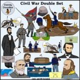 Civil War (Double Set!) Clip Art