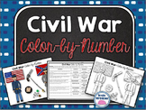 Civil War: Color-by-Number Activity