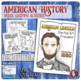 Civil War Coloring Activities