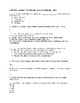 Civil War Combat - The Bloody Lane at Antietam Video Worksheet with Answers