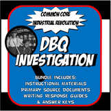 DBQ Industrial Revolution Common Core Doument Based Questi