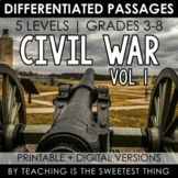 Civil War: Passages (Vol. 1) - Distance Learning Compatible