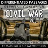 Civil War: Passages (Vol. 1) - Distance Learning Compatible