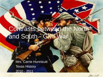 Civil War - Contrasts between the North and South