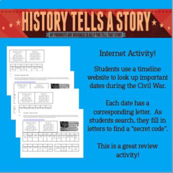 Civil War:  Crack the Code!