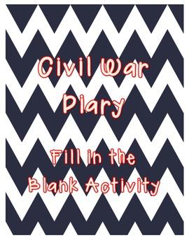 Civil War Diary - Quick Assessment