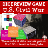 Civil War Dice Game Activities