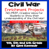 Civil War Writing and Research Projects for Upper Elementa