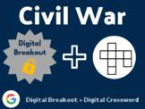 Civil War Digital Bundle (Digital Breakout, Digital Crossword)