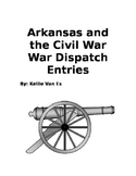 Civil War Dispatch Office Writing/Discussion Topics