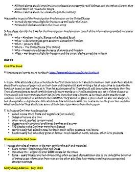 Civil War Documents, Technology, and Women