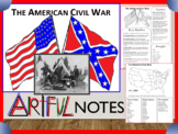 Civil War Artful Notes