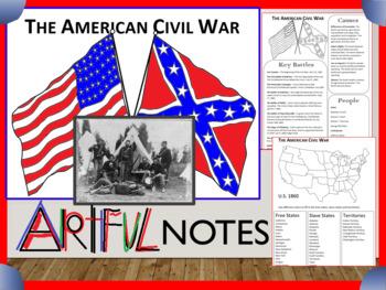 Civil War Artful Notes
