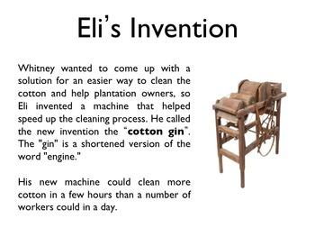 Civil War - Eli Whitney PowerPoint