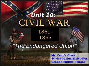 Civil War Era, STAAR Powerpoint Lecture