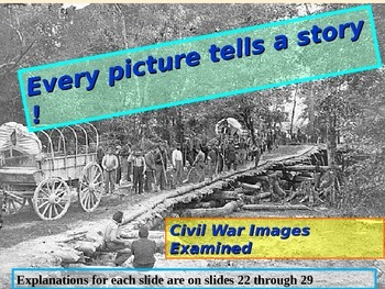 Civil War- Every Picture Tells a Story-