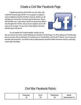 Civil War Facebook Page
