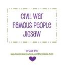 Civil War Famous People Jigsaw