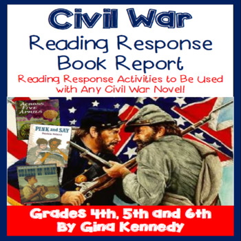 Civil War Book Report, Use With Any Children's Civil War Novel