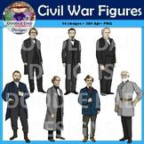Civil War Clip Art (Abraham Lincoln, John Wilkes Boot, Rob