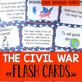 Civil War Flash Cards