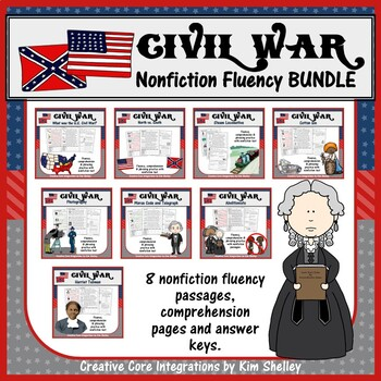 Civil War Fluency BUNDLE