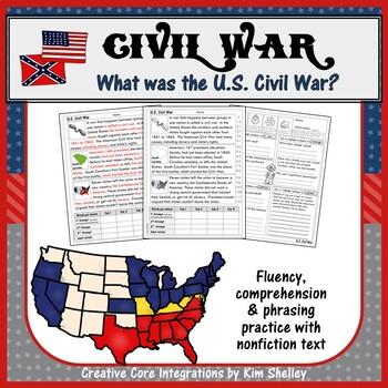 Civil War Fluency - CIVIL WAR