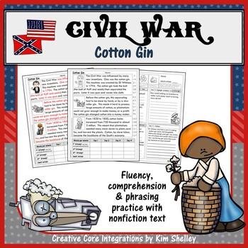 Civil War Fluency - COTTON GIN