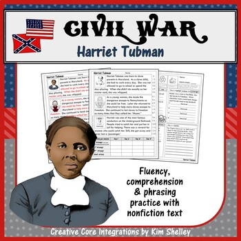 Civil War Fluency - HARRIET TUBMAN
