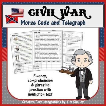 Civil War Fluency - MORSE CODE