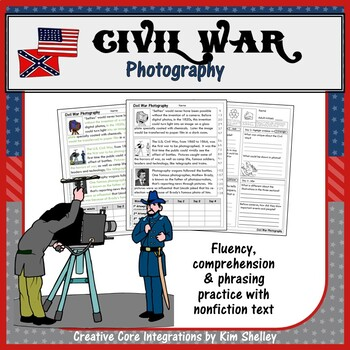 Civil War Fluency - PHOTOGRAPHY  FREEBIE