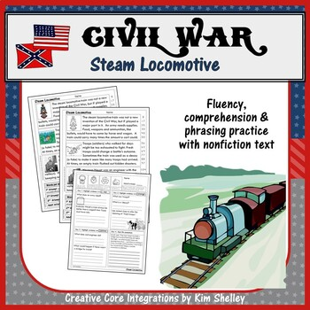 Civil War Fluency - STEAM LOCOMOTIVE