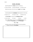 Civil War Fort Sumter Test Quiz Common Assessment Special Education History
